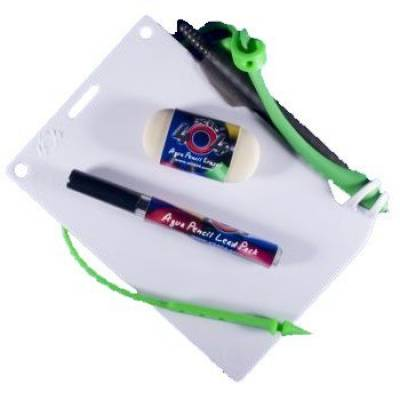 Aqua pencil starter kit-green