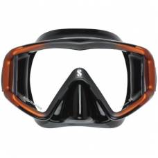 CRYSTAL VU MASK (orange-black)
